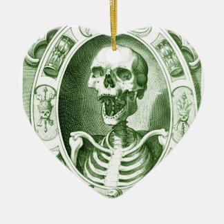 mantenha o sorriso seu não estão inoperante ainda ornamento de cerâmica coração