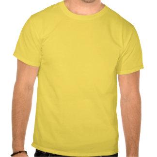 Mantenha o t-shirt calmo do slogan