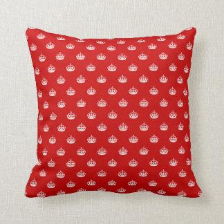 Mantenha o travesseiro decorativo calmo com teste almofada