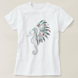 mantilha do cavalo marinho camiseta
