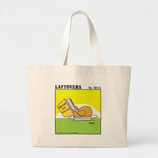 Mantimento engraçado dos desenhos animados de sacola tote jumbo