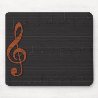 Manuscrito da música mousepads
