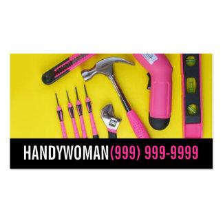 Manutenção, construção, cartão de visita de Handyw
