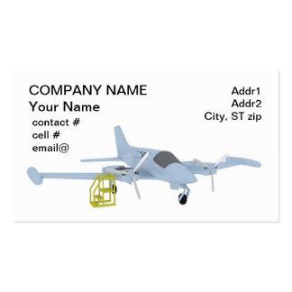 Manutenção de aviões gêmea cartão de visita