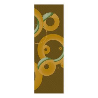 Manutenção programada. Marcador moderno das bolhas Cartao De Visita