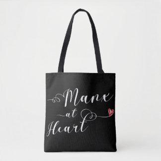 Manx na bolsa de compra do coração, ilha do homem