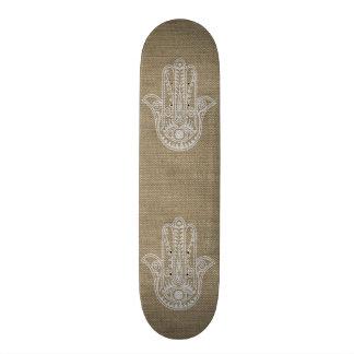 Mão de HAMSA do amuleto do símbolo de Fatima Shape De Skate 19,7cm