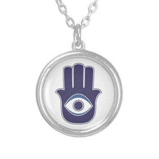 Mão de Hamsa/Khamsa de Fatima/de amuleto/sorte de  Colar Personalizado