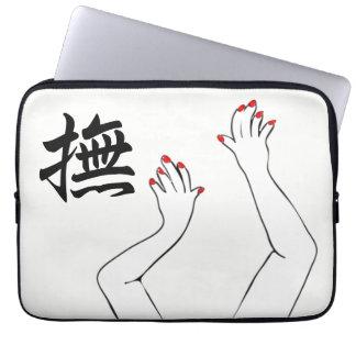Mãos Capa De Notebook