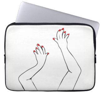 Mãos Checkered Capa Para Laptop