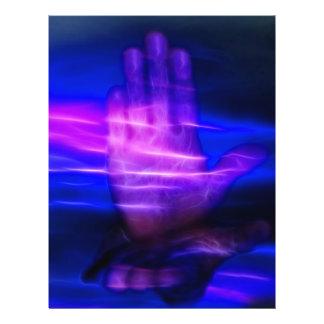 Mãos curas panfleto