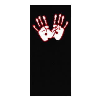 Mãos Loving - 20:27 de John 10.16 X 22.86cm Panfleto