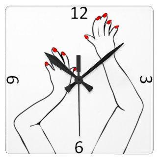Mãos Relógios De Pendurar