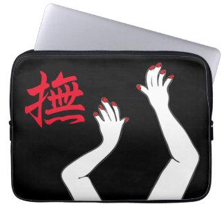 Mãos Sleeve Para Laptop