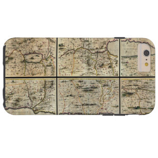 Mapa 1662 de Israel Palestina da Terra Santa de Capas iPhone 6 Plus Tough