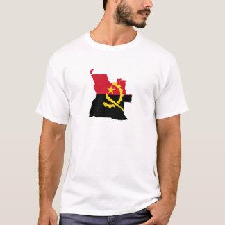 Mapa Angola Camiseta