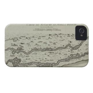 Mapa antigo do Golfo Pérsico Capinhas iPhone 4