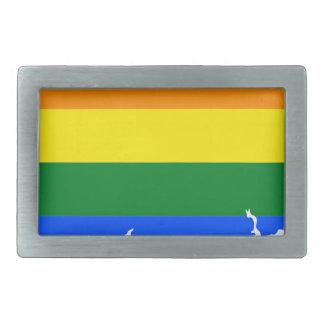 Mapa da bandeira de Connecticut LGBT
