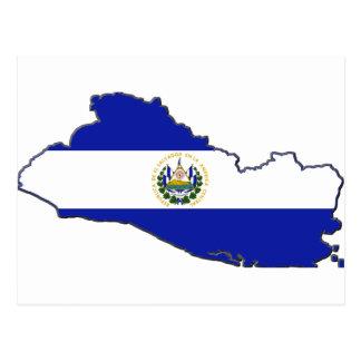 Mapa da bandeira de El Salvador