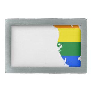 Mapa da bandeira de Florida LGBT