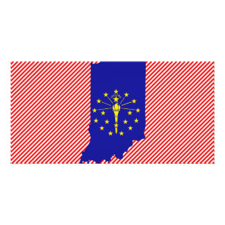 Mapa da bandeira de Indiana Cartoes Com Fotos