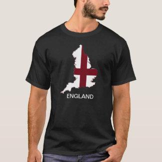 Mapa da bandeira de Inglaterra Camiseta
