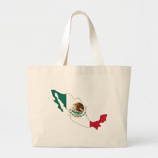 mapa da bandeira de México. bandera Nacional do la Bolsa Para Compra