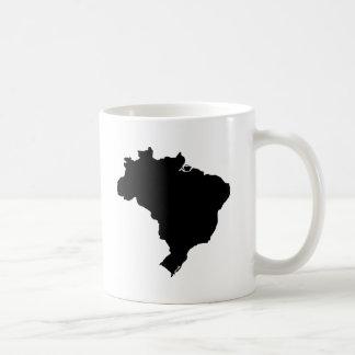Mapa de Brasil Caneca