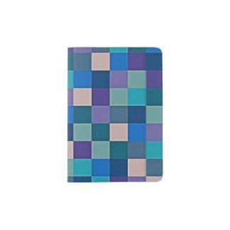 Mapa de cor no suporte do passaporte capa para passaporte