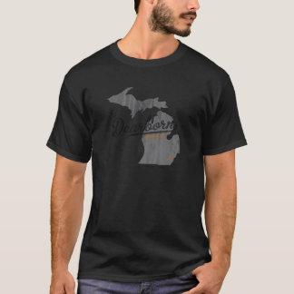 Mapa de Dearborn Michigan Camiseta