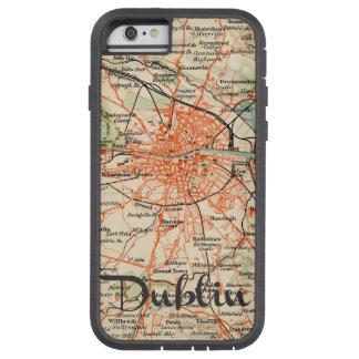 Mapa de Dublin Capa Tough Xtreme Para iPhone 6