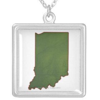 Mapa de Indiana 3 Pingentes