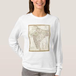 Mapa de índice de India XII Camiseta