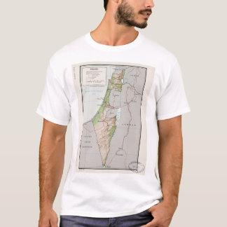 Mapa de Israel (1967) Camiseta