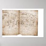 Mapa de Vinland Impressão