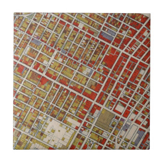 Mapa de WPA de Los Angeles central