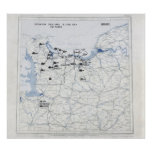Mapa do dia D Impressão