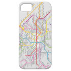 Mapa do Metrô de Paris - Capa de iPhone 5
