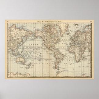 Mapa do mundo 2 pôster