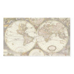 Mapa do mundo antigo, C. 1680. Por Frederick de Sa