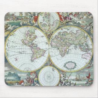 Mapa do mundo antigo do século XVII, Frederick De Mousepad