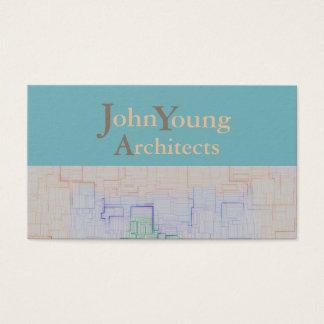 Mapa do site > cartão de visita modernos da