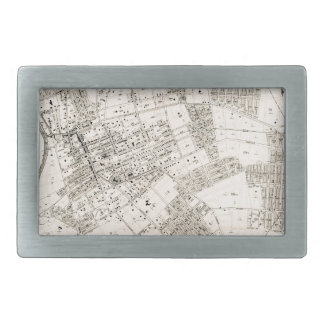 Mapa do vintage de nivelar New York 1894