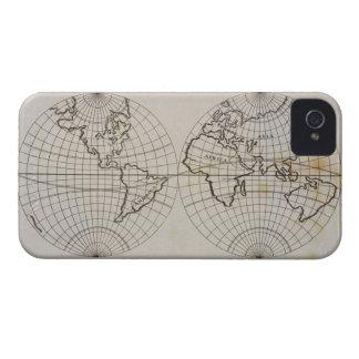 Mapa estereográfico capinha iPhone 4