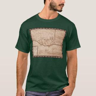 Mapa histórico de Presidio de San Ignacio de Tubac Camiseta