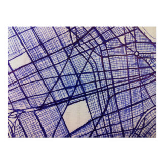 Mapa Pôster