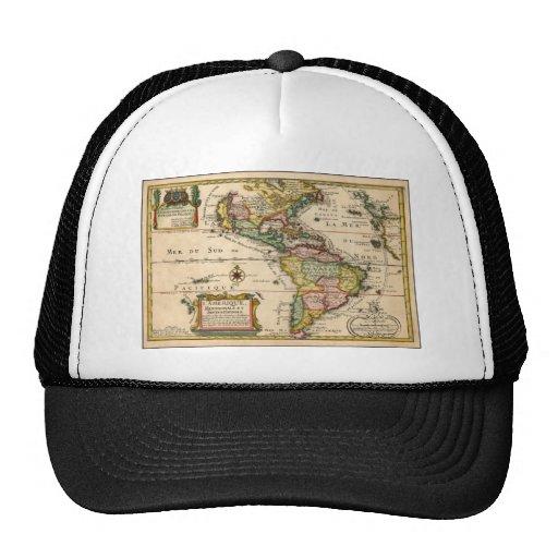 Mapa velho de Brasil - Mapa Antigo Boné