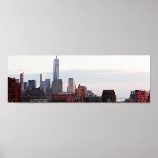 Mapas > Estados Unidos > New York) Poster