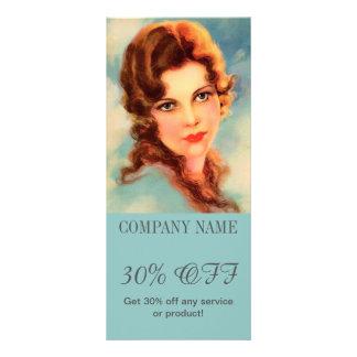 maquilhador do cabeleireiro da beleza dos TERMAS Panfletos Informativos Personalizados