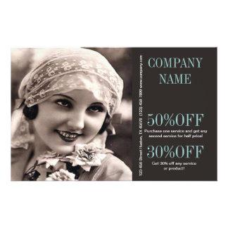maquilhador do fotógrafo do casamento da menina do panfletos personalizados